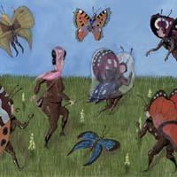 Poster Schmetterlingswiese