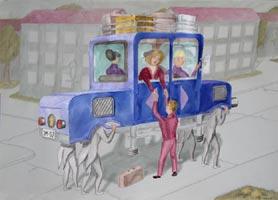 Skurrilmobil 2, jpg Poster