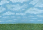 meadow and sky, free background pictures