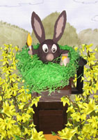 easter nest 9, gif clipart, free picture, exempt graphic