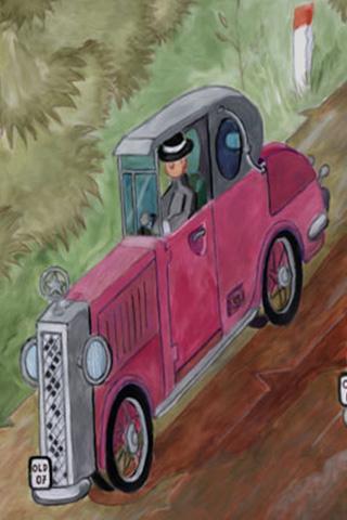 Wallpaper Car Poster 1, Vorschaubild/Preview JPG 320x480 Pixel, weisser Hintergrund