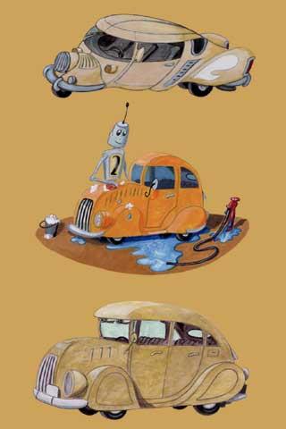 Wallpaper car wash, Vorschaubild/Preview JPG 320x480 Pixel