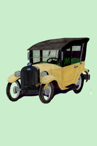 Wallpaper Dixi 1928, Vorschaubild/Preview JPG 320x480 Pixel, grüner Hintergrund