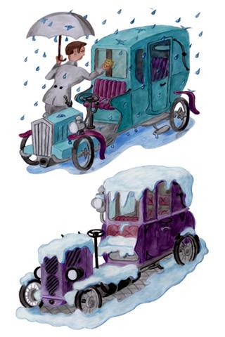 Wallpaper Old Car 1, Vorschaubild/Preview JPG 320x480 Pixel, weisser Hintergrund