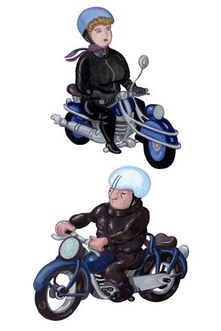 Wallpaper Motorcycling 2, Vorschaubild/Preview JPG 320x480 Pixel, weisser Hintergrund