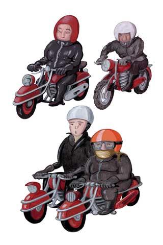 Wallpaper Motorcycling 5, Vorschaubild/Preview JPG 320x480 Pixel, weisser Hintergrund
